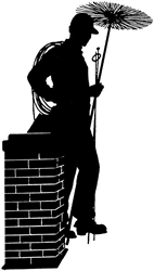 Let us clean your chimney:  We can inspect and clean your chimney.  Off Season Discount $30 OFF